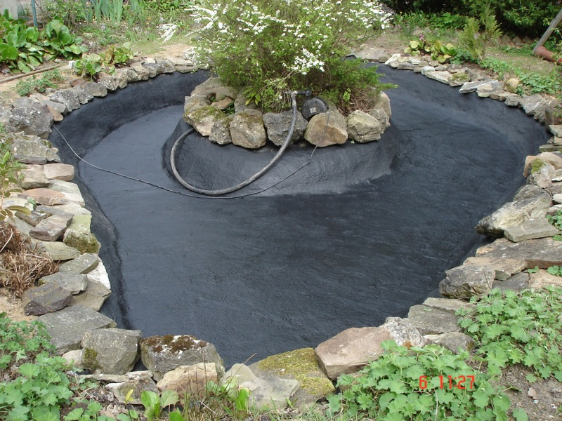 Repairs for fish ponds and waterfalls pond it for Pond and fish
